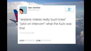 *airplane makes really loud noise*