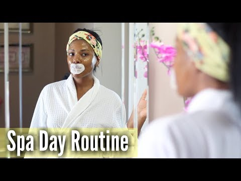 💖 Glam Home 💖 Dollar Tree Spa Day | At Home Spa Day Routine