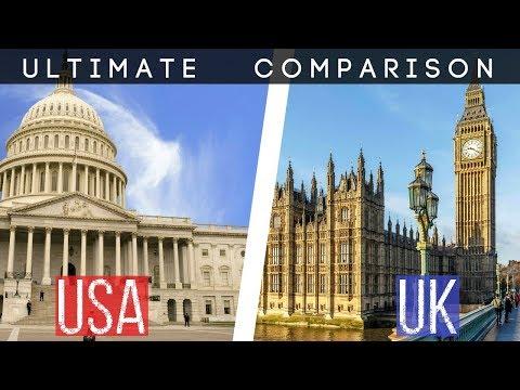 UK vs USA - COMPARISON | Military | Economy | Health