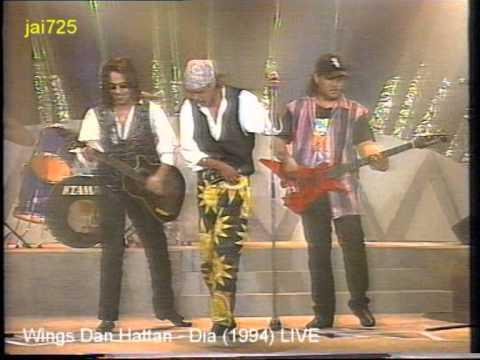 Wings Dan Hattan - Dia (1994) LIVE