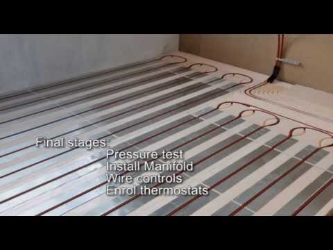 How to install Hep2O Foiled Polystyrene system in floating floors