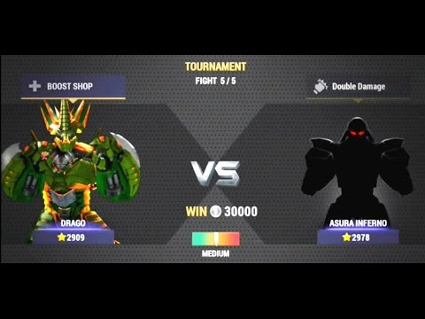 Real Steel CHAMPIONS Tournament | MONSTERBOT VS ASURA | NEW ROBOT GAME