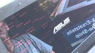 Fehlerbild: Asus G74SX Notebook mit defektem Grafik-Chip