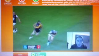 Chris Yarran 2012 Goal of the Year - Louie Bulzomi (AFL