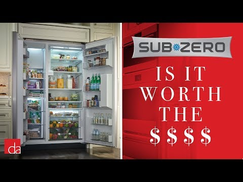 Is A Sub-Zero Refrigerator Worth The Money? [REVIEW]