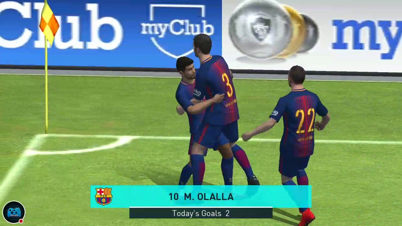 PES 2018 mobile multiplayer gameplay Android iOS part 4