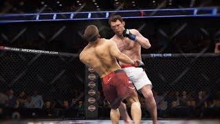 Khabib vs. Forrest Griffin (EA Sports UFC 3) - CPU vs. CPU