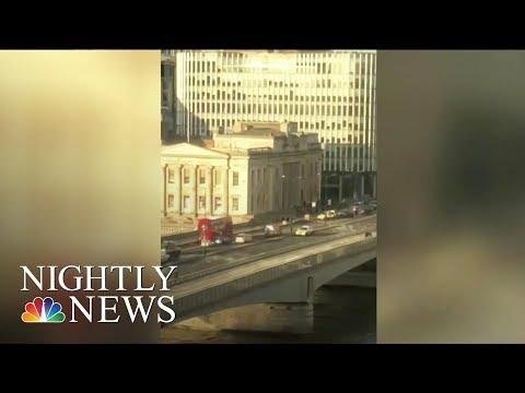 Bystanders Who Took Down London Bridge Attacker Hailed As Heroes | NBC Nightly News