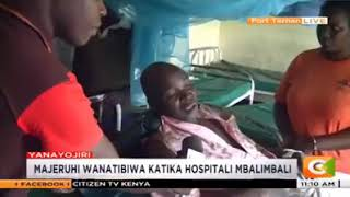 One of the survivor of a grisly accident along kericho-kisumu speaks.