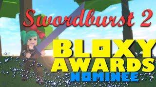 Roblox Swordburst 2 Bloxy Premios Nominado al Mejor Juego Breakout! SallyGreenGamer Geegee92
