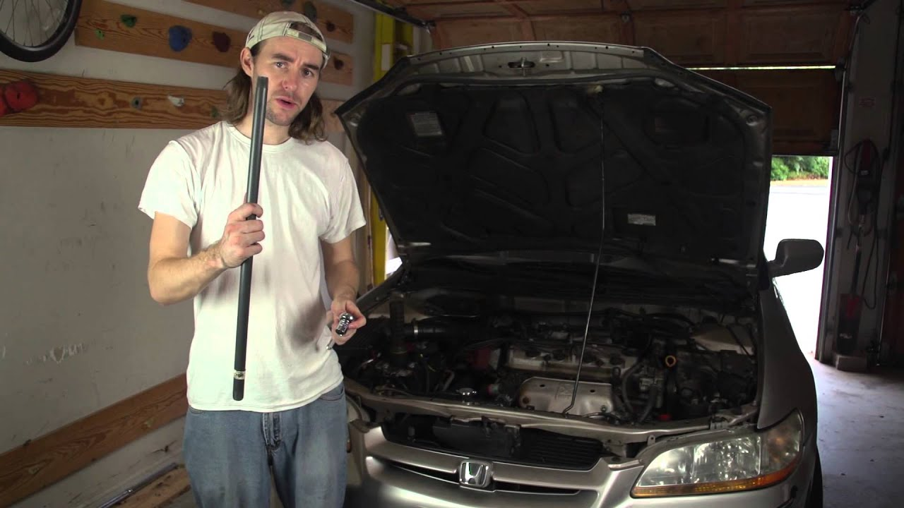 How to Replace the Motor Mount on a Honda Accord - YouTube