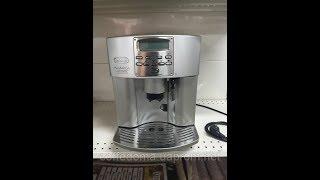 Delonghi esam 3500 cappuccino Приготовление латте. Видео работы coffedoma(Кофемашина прошла полную подготовку на сервисе. Заменены все манжеты, все полностью настроено. Узнать..., 2016-06-20T15:08:22.000Z)