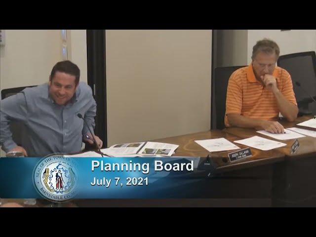 Planning Board 7-7-21