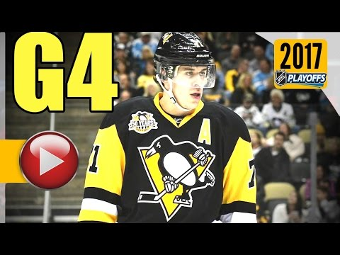Washington Capitals vs Pittsburgh Penguins. 2017 NHL Playoffs. Round 2. Game 4. 05.03.2017 (HD)