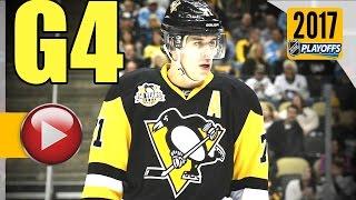 Washington Capitals vs Pittsburgh Penguins. 2017 NHL Playoffs. Round 2. Game 4. 05.03.2017 (HD)