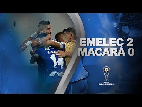 Emelec Macara Goals And Highlights