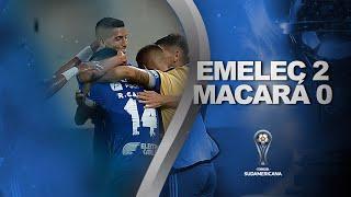 Emelec vs. Macará [2-0] | RESUMEN | Primera Fase | VUELTA | CONMEBOL Sudamericana