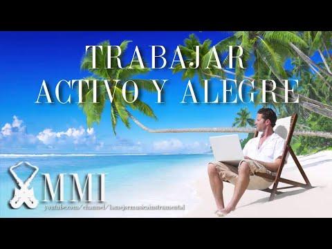 Música Para Trabajar Y Concentrarse En La Oficina Activo Y Alegre Guitarra Acústica Instrumental