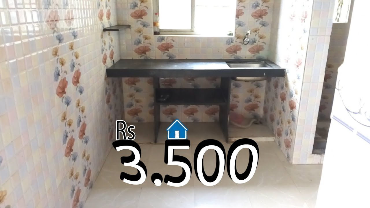 1rk Room Full Tiles For Rent 3 500 Mumbai Virar Aai Apartement Youtube