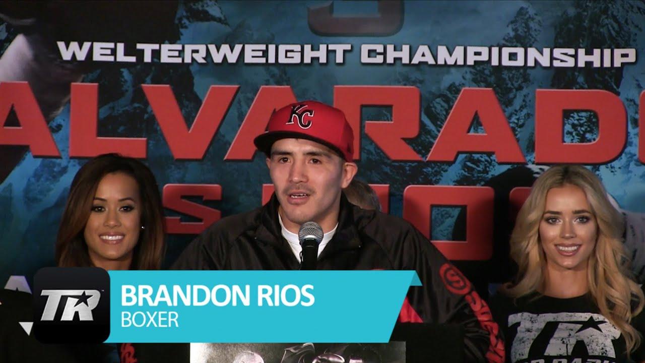 MIKE ALVARADO VS. BRANDON RIOS 3 FINAL PRESSER VIDEO COVERAGE + TOP RANK CHARTER BUS BTS #1