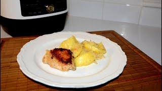Курица с Картофелем в Кефире в Мультиварке Скороварке Редмонд Рецепты для мультиварки скороварки
