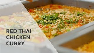 How-to cook Thai Red Curry Chicken with Recipe | RATIONAL SelfCookingCenter