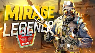 MOST LEGENDARY PRO MIRAGE CS:GO PLAYS