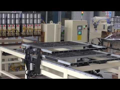 Ten-head Kitchen Wire Rack Automatic Spot Welding Machine