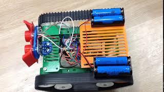 Уроки робототехники. Курс 3. Тестирование моторов.