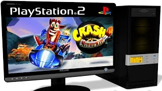 PCSX2 1.5.0 PS2 Emulator - Crash Nitro Kart (2003). Gameplay. REQUEST. Test run on PC #1