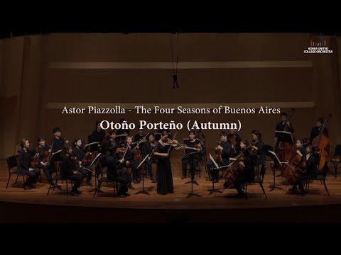 Piazzolla - The Four Seasons of Buenos Aires, Otoño Porteño (Violin: Ella Chang)