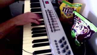 Chaka Khan   A Night In Tunisia synth solo (played by bass player)