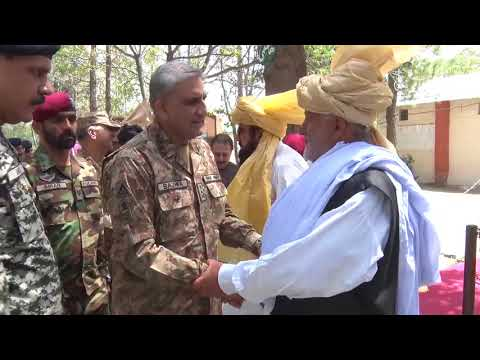 Press Release No 259/2018, COAS, visited South Waziristan - 29 Aug 2018 (ISPR Official Video)
