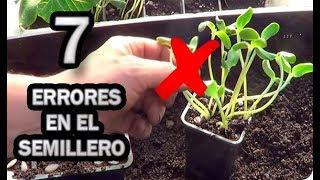 👉 7 Errores Que Todos Cometimos Preparando Semilleros 🌱 Solución || La Huertina De Toni