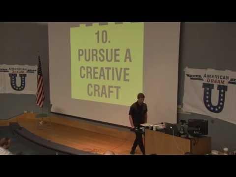 American Dream U: Chase Jarvis - Pursue A Creative Craft