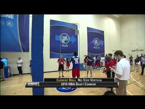 Vertical Jump | May 14, 2015 | 2015 NBA Draft Combine