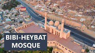 Bibi-Heybat Mosque Baku - Aerial Drone Footage