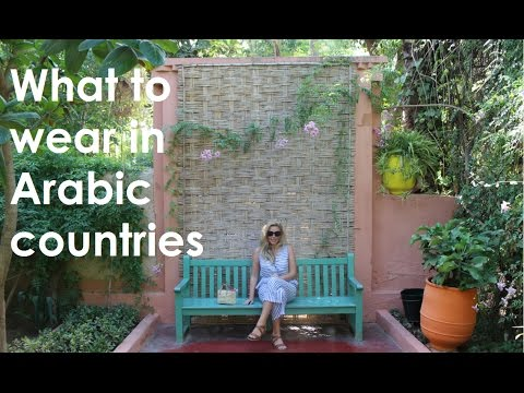 What to wear in Arabic countries