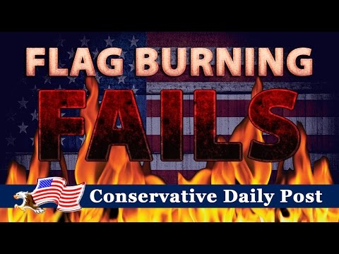 Flag Burning FAILS - These un-American Fools Get Instant Karma!