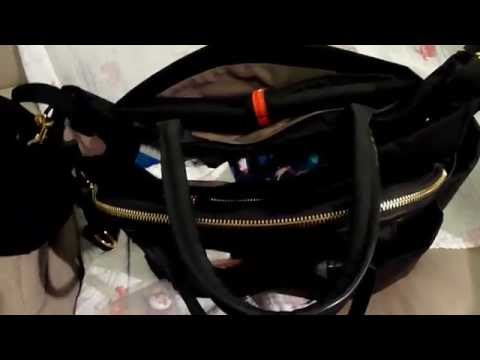 What's in my Diaper Bag & Review!