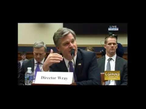 Rep. DeSantis Questioning FBI Director Wray