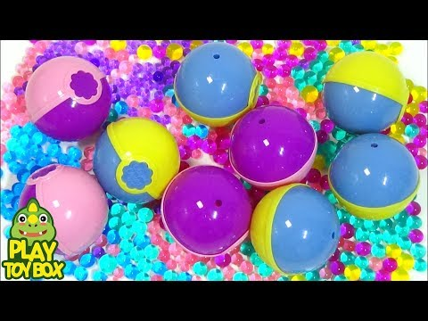 Color Orbeez Chupa Chups Ball Surprise Egg Toys Learn Colors