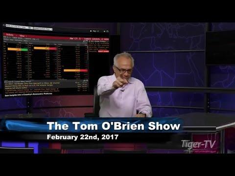February 22nd Daily Stock Market Recap by Tom O'Brien on TFNN   2017