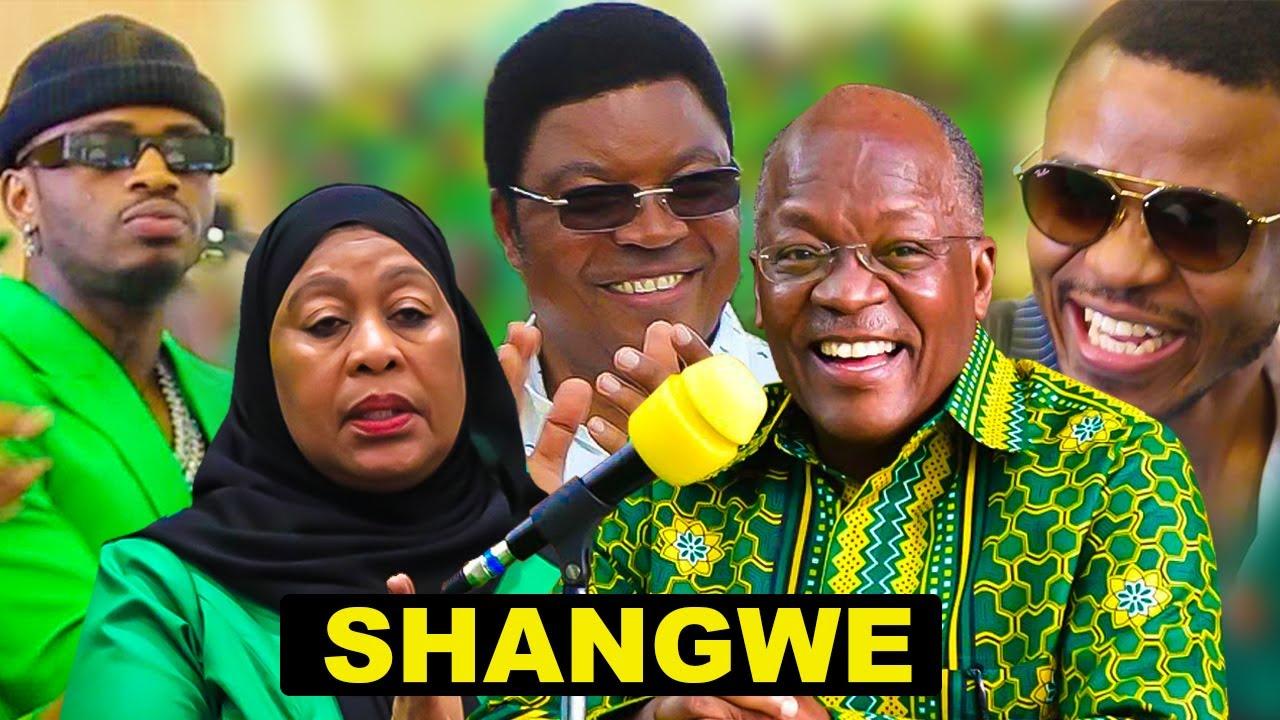 """🔴LIVE:SHANGWE ZA WASANII KWA RAIS MAGUFULI, WAJUMBE """"IKULU ..."""