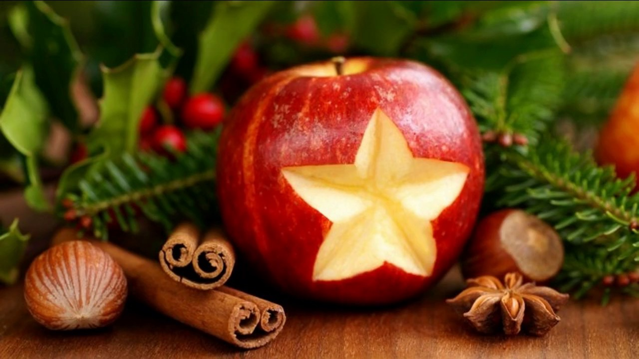 Easy fruit decoration ideas apple youtube for Apples for decoration