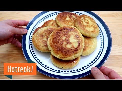 Korean Dessert: How to make Hotteok - YouTube