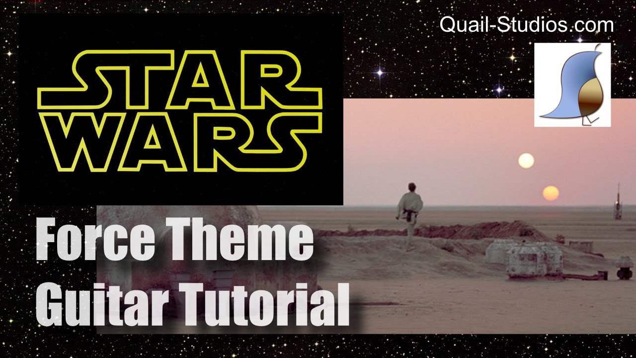 how to play the star wars theme on guitar