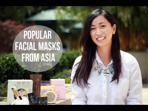 Popular Facial Masks From Asia - Review, facial masks, skincare, asian beauty products