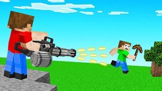 HITMEN vs SPEEDRUNNERS In MINECRAFT! (Guns)