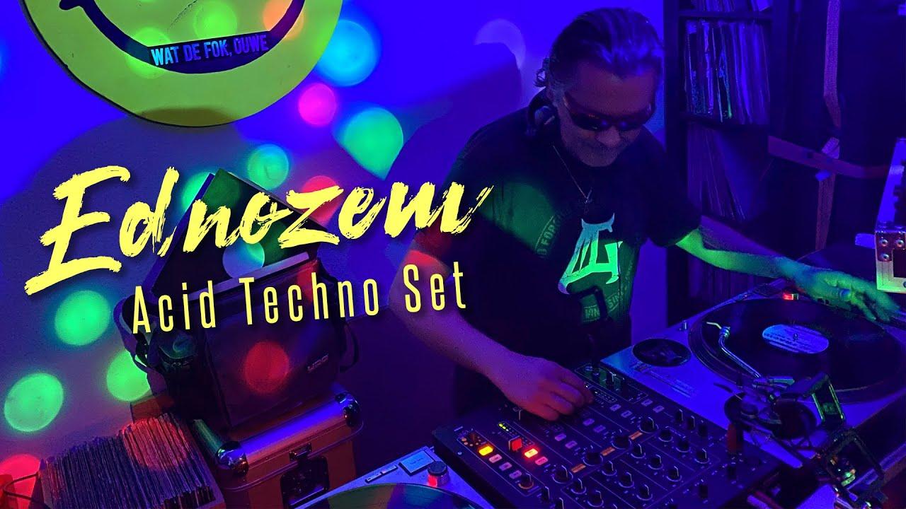 Download EDNOZEM | ACID TECHNO SET FOR ACID BASH!💥 - LIVE STREAM PARTY AT HOME 🏠